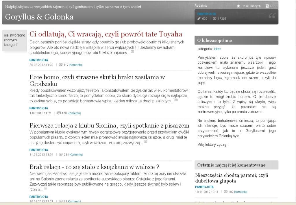 Goryllus & Golonka