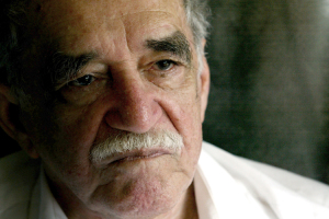 Nobel Prize writer Garcia Marquez arrives in Aracataca